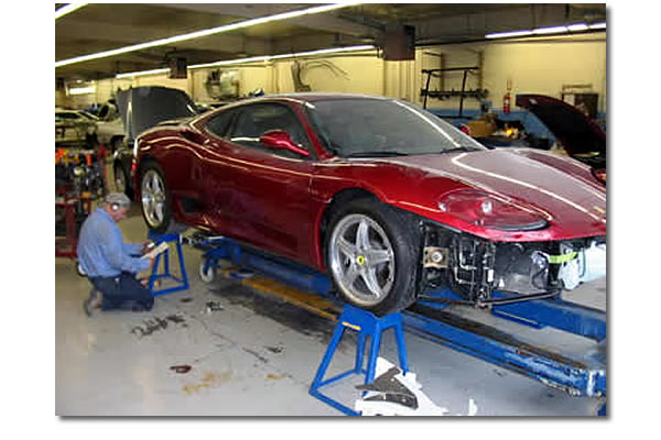 38fb298088 Ferrari 430 Automotive Collision Repair - Bertolucci's Body and Fender Shop  Sacramento CA -916.454.4433